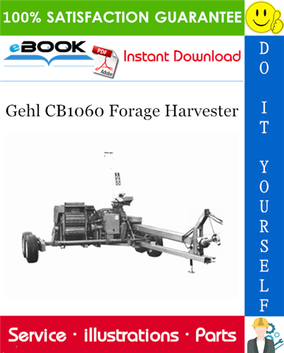 Thumbnail ☆☆ Best ☆☆ Gehl CB1060 Forage Harvester Parts Manual