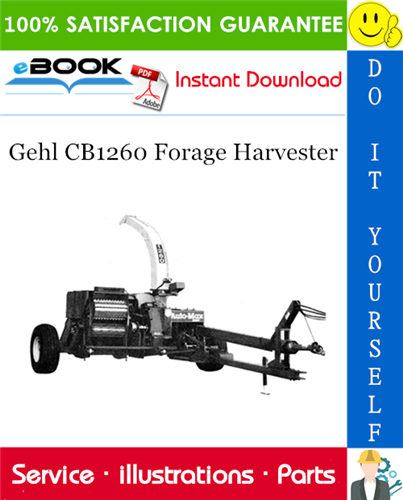 Thumbnail ☆☆ Best ☆☆ Gehl CB1260 Forage Harvester Parts Manual