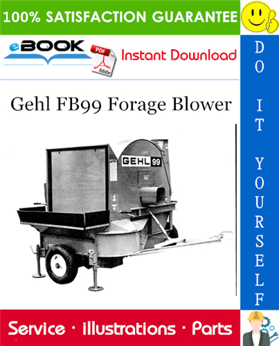 Thumbnail ☆☆ Best ☆☆ Gehl FB99 Forage Blower Parts Manual