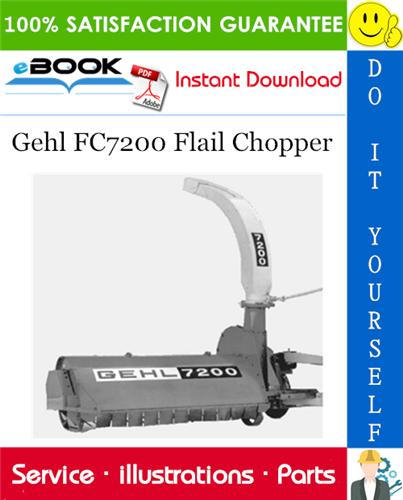 Thumbnail ☆☆ Best ☆☆ Gehl FC7200 Flail Chopper Parts Manual