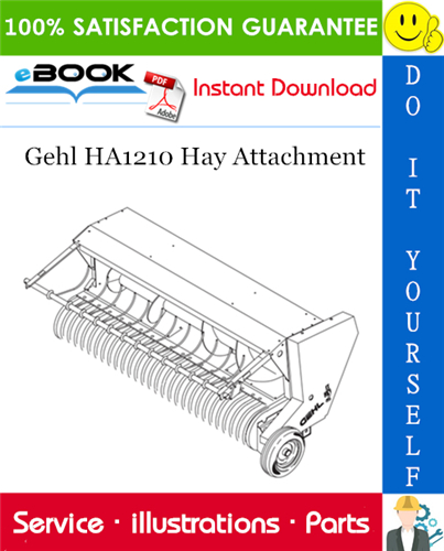 Thumbnail ☆☆ Best ☆☆ Gehl HA1210 Hay Attachment Parts Manual