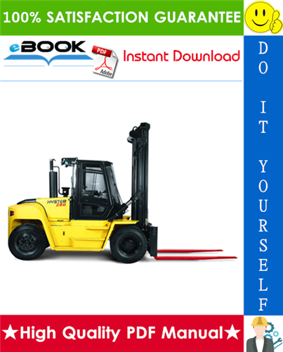 Thumbnail ☆☆ Best ☆☆ Hyster Challenger H300HD, H330HD, H350HD, H360HD-EC (F019) Forklift Trucks Parts Manual