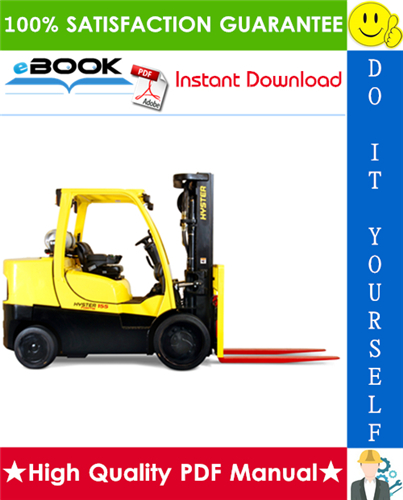 Thumbnail ☆☆ Best ☆☆ Hyster S135FT, S155FT (F024) 4-Wheel Cushion Tire Forklifts Parts Manual