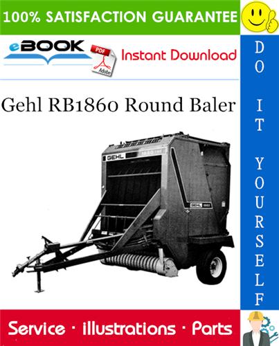 Thumbnail ☆☆ Best ☆☆ Gehl RB1860 Round Baler Parts Manual