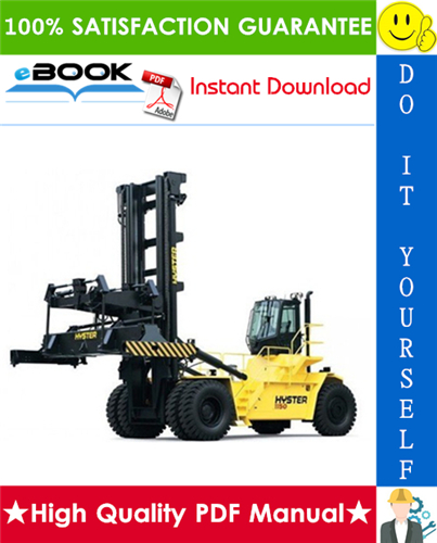 Thumbnail ☆☆ Best ☆☆ Hyster Challenger H1050HD-CH, H1150HD-CH (F117) Container Handlers Parts Manual
