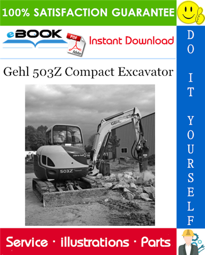Thumbnail ☆☆ Best ☆☆ Gehl 503Z Compact Excavator Parts Manual