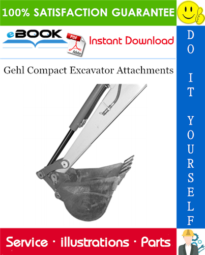 Thumbnail ☆☆ Best ☆☆ Gehl Compact Excavator Attachments Parts Manual