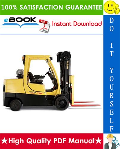 Thumbnail ☆☆ Best ☆☆ Hyster Fortis S80FT, S100FT, S120FT, S80FTBCS, S100FTBCS, S120FTS, S120FTPRS (G004) 4-Wheel Cushion Tire Lift Trucks Parts Manual