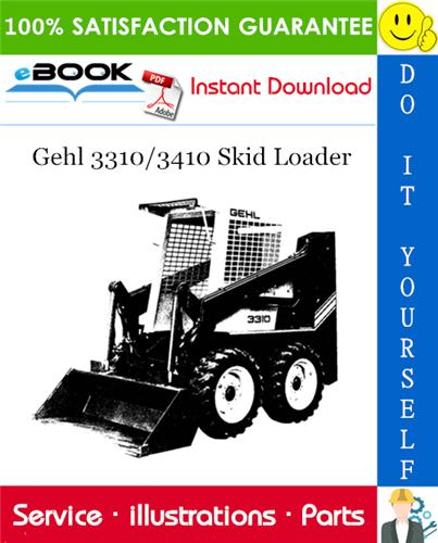 Thumbnail ☆☆ Best ☆☆ Gehl 3310/3410 Skid Loader Parts Manual