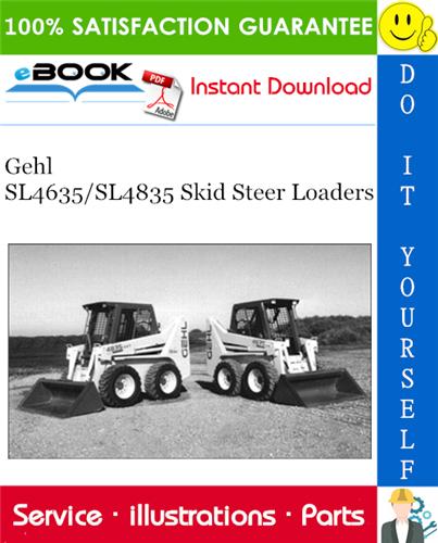 Thumbnail ☆☆ Best ☆☆ Gehl SL4635/SL4835 Skid Steer Loaders Parts Manual