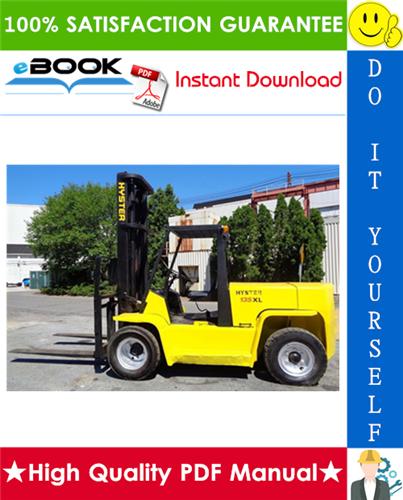 Thumbnail ☆☆ Best ☆☆ Hyster H135XL, H155XL (G006) Forklift Trucks Parts Manual