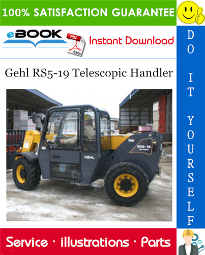 Thumbnail ☆☆ Best ☆☆ Gehl RS5-19 Telescopic Handler Parts Manual