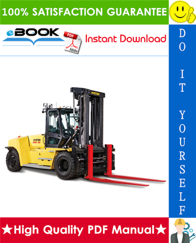 Thumbnail ☆☆ Best ☆☆ Hyster H300HD, H330HD, H360HD, H360HD-12EC (G019) High-Capacity Forklift Trucks Parts Manual