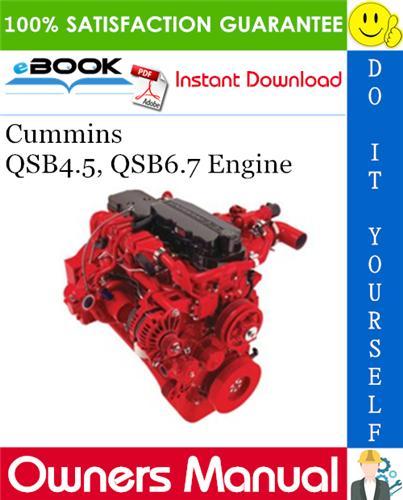 Thumbnail ☆☆ Best ☆☆ Cummins QSB4.5, QSB6.7 Engine Owners Manual