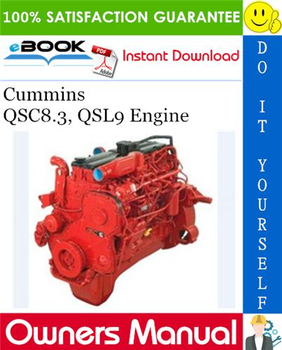 Thumbnail ☆☆ Best ☆☆ Cummins QSC8.3, QSL9 Engine Owners Manual