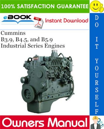 Thumbnail ☆☆ Best ☆☆ Cummins B3.9, B4.5, and B5.9 Industrial Series Engines Owners Manual