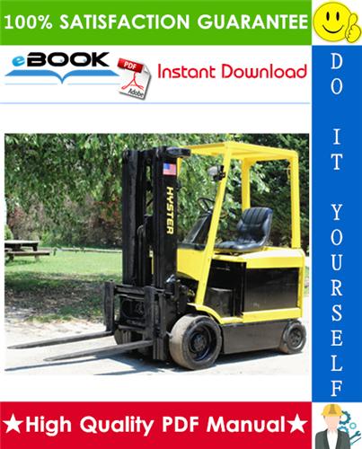 Thumbnail ☆☆ Best ☆☆ Hyster E45Z, E50Z, E55Z, E60Z, E65Z (G108) Forklift Trucks Parts Manual