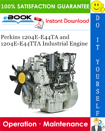 Thumbnail ☆☆ Best ☆☆ Perkins 1204E-E44TA and 1204E-E44TTA Industrial Engine Operation & Maintenance Manual