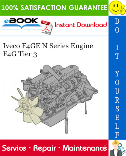Thumbnail ☆☆ Best ☆☆ Iveco F4GE N Series Engine F4G Tier 3 Service Repair Manual
