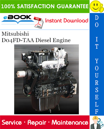 Thumbnail ☆☆ Best ☆☆ Mitsubishi D04FD-TAA Diesel Engine Service Repair Manual