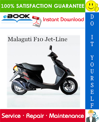 Thumbnail ☆☆ Best ☆☆ Malaguti F10 Jet-Line Service Repair Manual