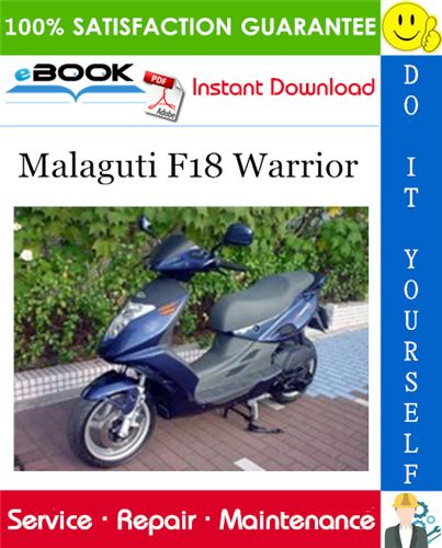 Thumbnail ☆☆ Best ☆☆ Malaguti F18 Warrior Service Repair Manual