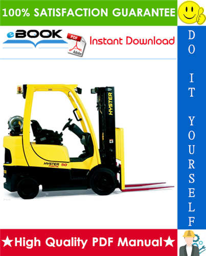 Thumbnail ☆☆ Best ☆☆ Hyster S40FT, S50FT, S60FT, S70FT, S55FTS (G187) Forklift Trucks Parts Manual
