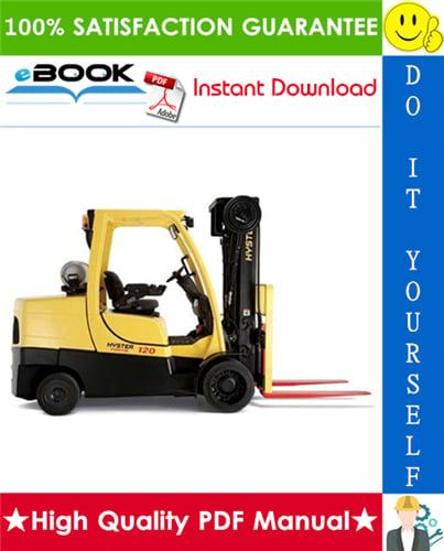 Thumbnail ☆☆ Best ☆☆ Hyster Fortis S80FT, S100FT, S120FT, S80FTBCS, S100FTBCS, S120FTS, S120FTPRS (H004) 4-Wheel Cushion Tire Lift Trucks Parts Manual