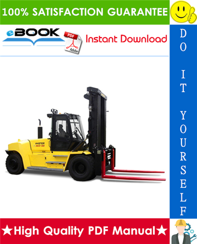 Thumbnail ☆☆ Best ☆☆ Hyster H550HD, H650HD, H700HD, H550HDS, H650HDS, H700HDS (H008) High-Capacity Forklift Trucks Parts Manual