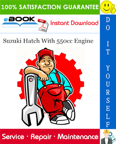 Thumbnail ☆☆ Best ☆☆ Suzuki Hatch With 550cc Engine Service Repair Manual