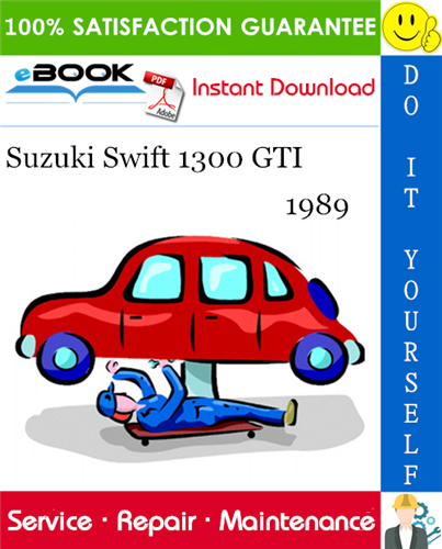 Thumbnail 1989 Suzuki Swift 1300 GTI Service Repair Manual