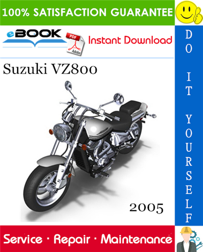 Thumbnail ☆☆ Best ☆☆ 2005 Suzuki VZ800 Motorcycle Service Repair Manual