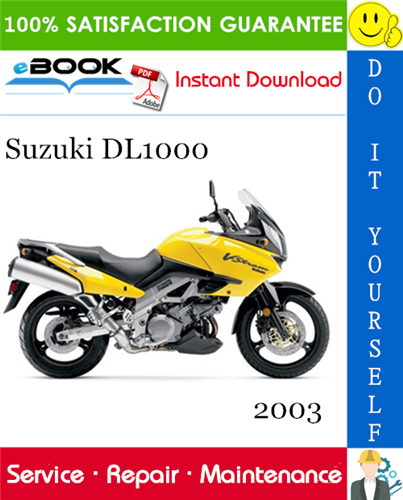 Thumbnail ☆☆ Best ☆☆ 2003 Suzuki DL1000 Motorcycle Service Repair Manual