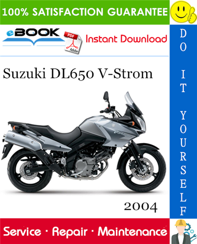 Thumbnail ☆☆ Best ☆☆ 2004 Suzuki DL650 V-Strom Motorcycle Service Repair Manual