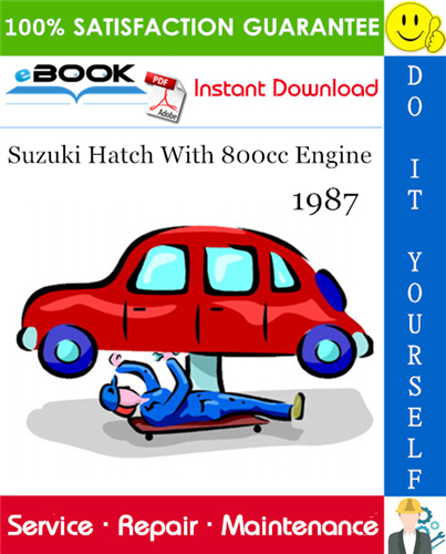 Thumbnail ☆☆ Best ☆☆ Suzuki Hatch With 800cc Engine Service Repair Manual