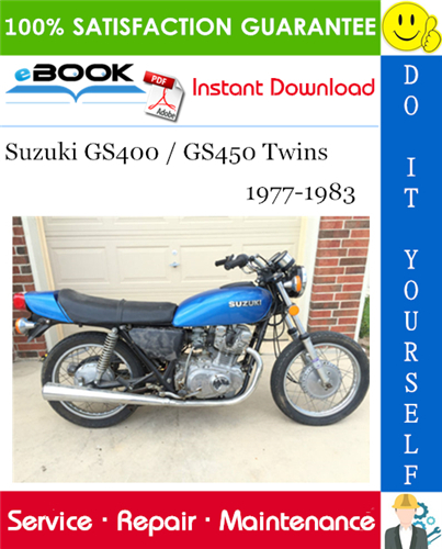 Thumbnail ☆☆ Best ☆☆ Suzuki GS400 / GS450 Twins Motorcycle Service Repair Manual 1977-1983 Download