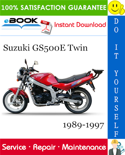 Thumbnail ☆☆ Best ☆☆ Suzuki GS500E Twin Motorcycle Service Repair Manual 1989-1997 Download