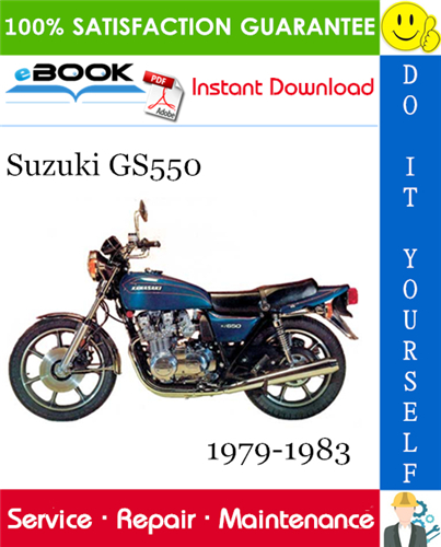 Thumbnail ☆☆ Best ☆☆ Suzuki GS550 Motorcycle Service Repair Manual 1979-1983 Download