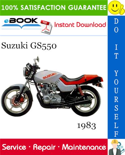Thumbnail ☆☆ Best ☆☆ 1983 Suzuki GS550 Motorcycle Service Repair Manual
