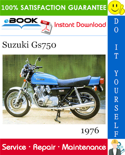 Thumbnail ☆☆ Best ☆☆ 1976 Suzuki Gs750 Motorcycle Service Repair Manual
