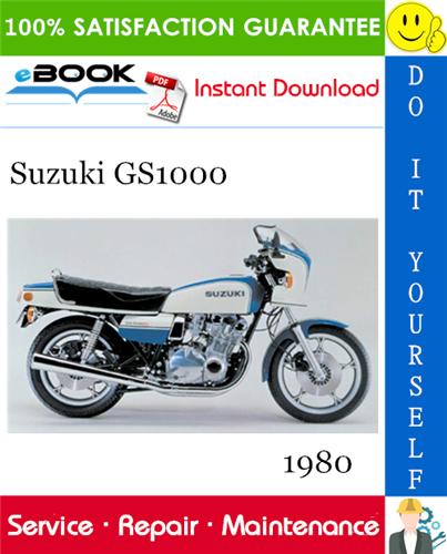 Thumbnail ☆☆ Best ☆☆ 1980 Suzuki GS1000 Motorcycle Service Repair Manual