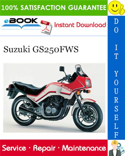 Thumbnail ☆☆ Best ☆☆ Suzuki GS250FWS Motorcycle Service Repair Manual