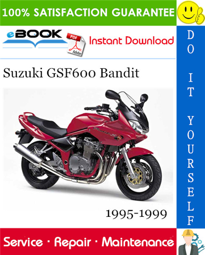 Thumbnail ☆☆ Best ☆☆ Suzuki GSF600 Bandit Motorcycle Service Repair Manual 1995-1999 Download