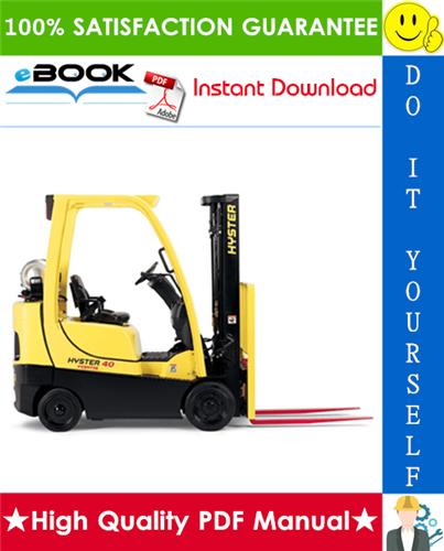 Thumbnail ☆☆ Best ☆☆ Hyster S40FT, S50FT, S55FTS, S60FT, S70FT (H187) Lift Trucks Parts Manual