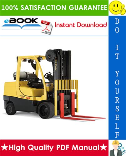 Thumbnail ☆☆ Best ☆☆ Hyster S80FT, S80FT-BCS, S100FT, S100FT-BCS, S120FT, S120FTS, S120FT-PRS (J004) Forklift Trucks Parts Manual