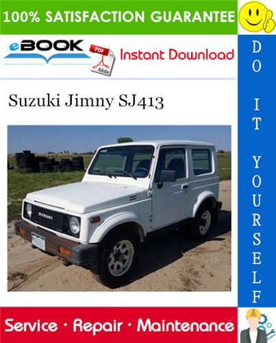 Thumbnail ☆☆ Best ☆☆ Suzuki Jimny SJ413 Service Repair Manual
