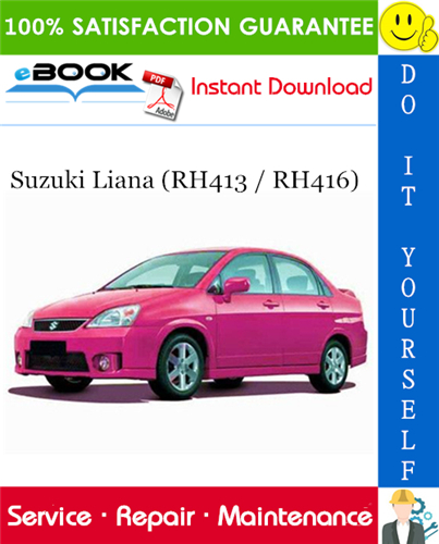 Download Rh413  Repair Manual  Manual  Download  Suzuki Liana