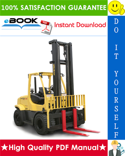 Thumbnail ☆☆ Best ☆☆ Hyster Fortis H135FT, H155FT (J006) Pneumatic Tire Forklift Trucks Parts Manual