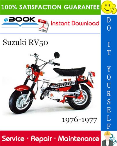Thumbnail ☆☆ Best ☆☆ Suzuki RV50 Motorcycle Service Repair Manual 1976-1977 Download