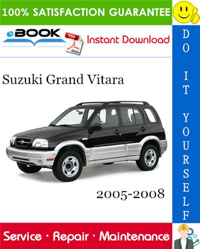 Thumbnail ☆☆ Best ☆☆ Suzuki Grand Vitara Service Repair Manual 2005-2008 Download